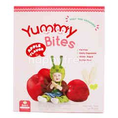 Yummy Bites Baby Rice Crackers Apple Flavor
