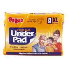 Bagus Under Pad for All Ages Size XL (8 pieces)