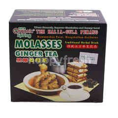 Organic Spring Molasses Ginger Tea (12 Pieces)