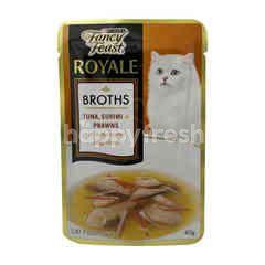 Purina Fancy Feast Royale Broths Tuna, Surimi & Prawns