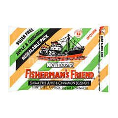 Lofthouse's Fisherman's Friend Sugar Free Apple & Cinnamon Lozenges