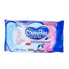 MamyPoko Baby Wipes Non Alcohol, Fragrance, Soft in Skin (80 wipes)