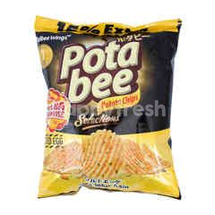 Potabee Selections Salted Egg Potato Chips