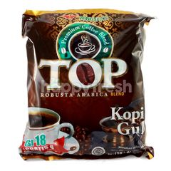TOP Coffee Kopi Arabika dan Robusta Bubuk dengan Gula (24 sachet)