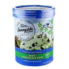 Sunnyside Farms Premium Ice Cream Mint Chocolate Chip Ice Cream