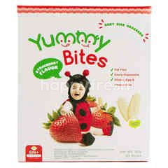 Yummy Bites Baby Rice Crackers Strawberry Flavor