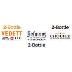 B-delicious La Chouffe Beer 2 Pcs & Liefmans Fruitesse On The Rocks Beer 2 Pcs & Vedett Extra Ordinary IPA 2 Pcs