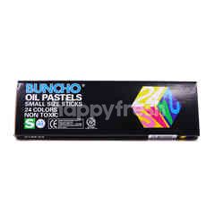 Buncho Oil Pastel (24 Pieces)