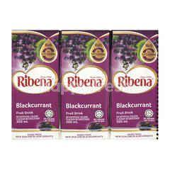Ribena Blackcurrant Fruit Drinks (6 Pieces)