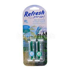 Refresh Your Car Dual Scent (Summer Breeze & Alphine Meadow)