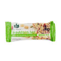 BrookFarm Bar Baked With Macadamias & Cranberries Gluten Free
