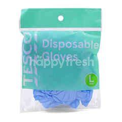 Tesco Disposable Gloves (L Size)