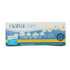 NatraCare Kapas Tampon Organik Super