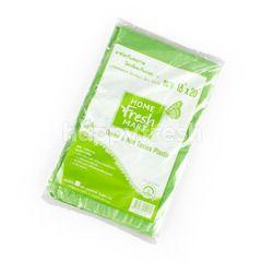 โฮม เฟรช มาร์ท ถุงขยะย่อยสลาย สีเขียว ไม่มีกลิ่น