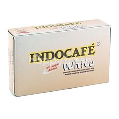 Indocafe No Sugar Added White Powdered Coffee