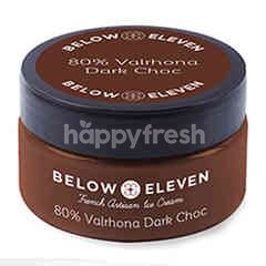 Below Eleven Ice Cream Cup 80% Valrhona Dark Choc 90 ml