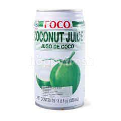 Foco Minuman Jus Sari Kelapa Muda