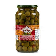 Crespo Green Olives With Minced Pimento In Brine