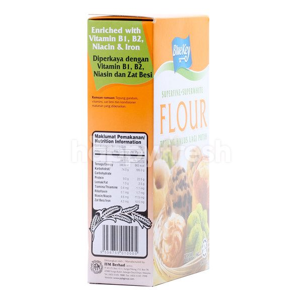 Blue Key Superfine Superwhite Flour