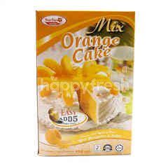 BUNGA RAYA Orange Cake Mix Flour