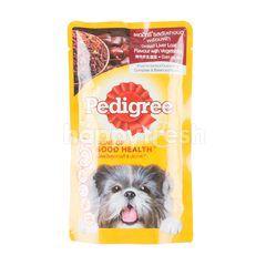Pedigree Grilled Liver Loaf With Vegetable Dog Food