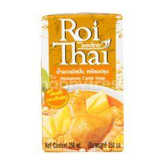 Roi Thai Massaman Curry Soup