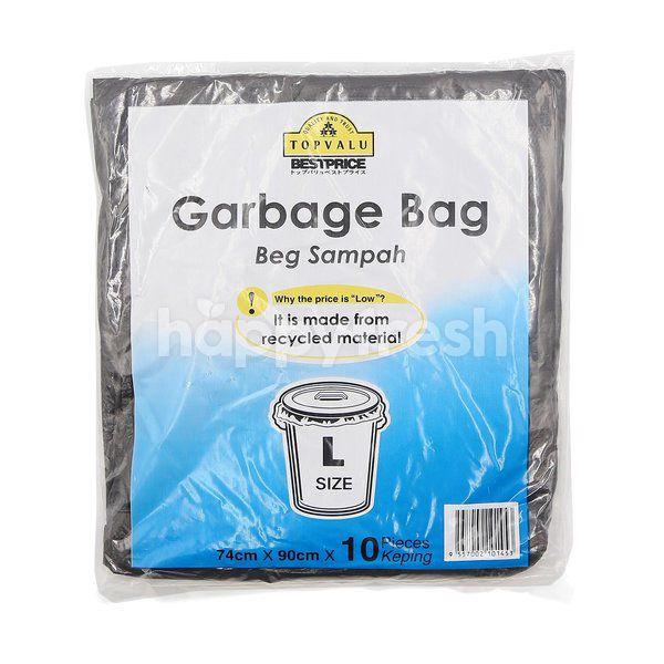 TOPVALU Garbage Bag (L Size - 10 Pieces)