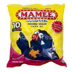 Mamee Monster Noodle Snack BBQ Flavour