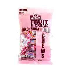 SUGARLESS CONFECTIONERY Fruit & Cream 99.8% Sugar Chews