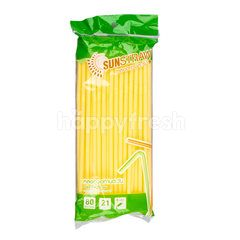 Sunstraw Flexible Straw 21 cm