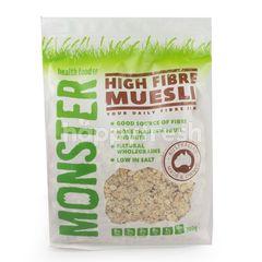 Monster High Fibre Muesli Cereal