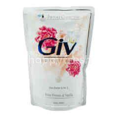 Giv Sabun Mandi Cair Bunga Putih dan Vanila