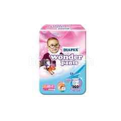 Diapex Baby Pant Wonder Pants Size XL (44 Pieces)