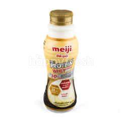 เมจิ ไฮ โปรตีน นมพร่องมันเนย สูตรเวย์ กลิ่นคลาสสิควานิลลา 350 มล.