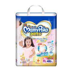 Mamy Poko Pants Extra Dry Skin Girls XL 46 Pcs.