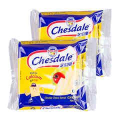 Fonterra Chesdale Cheddar Cheese Slices Spread (6 Slices) Twinpack