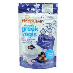 HAPPY BABY Organic Greek Yogis - Blueberry Purple Carrot