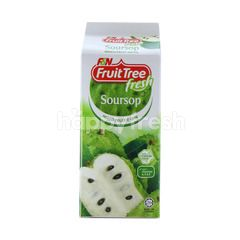 F&N Fruit Tree Fresh Soursop & Nata De Coco Mixed Fruit Drink