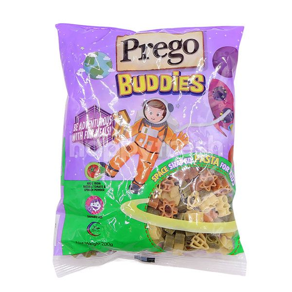 Prego Space Shaped Pasta For Kids