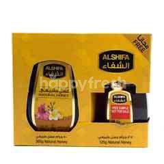 Al Shifa Natural Honey + Free 125g More
