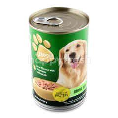 Tesco Liver With Vegetable Dog Food