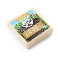 ORGANIC VALLEY Raw Sharp Cheddar Cheese