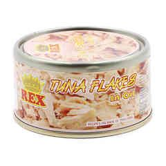 Rex Tuna Flakes In Oil