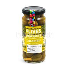 La Rambla Green Manzanilla Olives