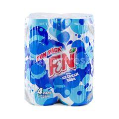 F&N Fun Pack Cool Ice Cream Soda (4 Cans)