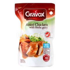 Gravox Roast Chicken With Herbs Gravy