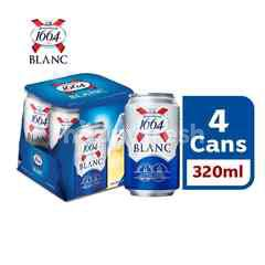 1664 Blanc Beer Can (320ml x 4)