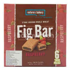 Nature's Bakery Stone Ground Whole Wheat Fig Bar Raspberry