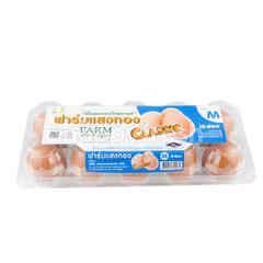 Sangthong Farm Fresh Eggs Classsic Size M 10 Pcs