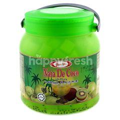 Yumyum Nate De Coco In Kiwi Juice